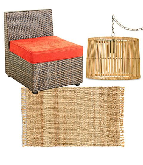 Rectangle, Home accessories, Beige, Wicker, Outdoor furniture, Natural material, Basket,