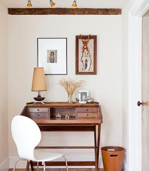 Wood, Room, Interior design, Drawer, Wall, Door, Furniture, Table, Interior design, Picture frame,