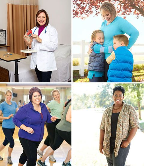 Four live longer and stronger challenge women
