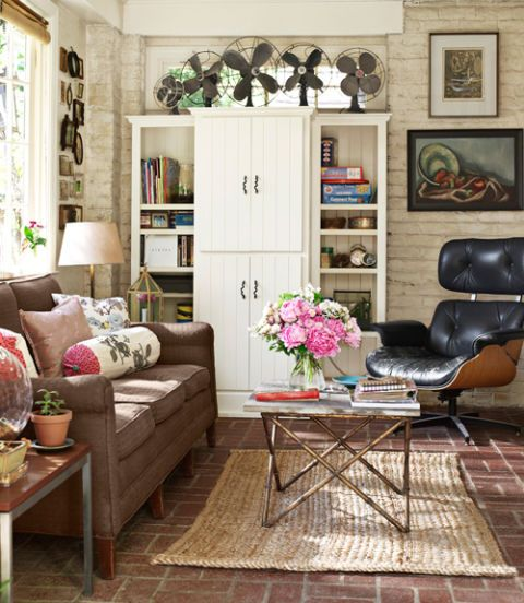 27 Eclectic Farmhouse Decor Family Rooms Coffee Tables 61: Stylish Living Room Decorating