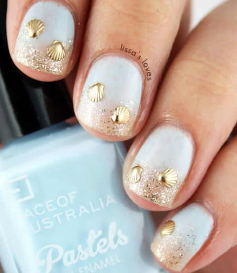 Manicure Month 16: Beachy Nails