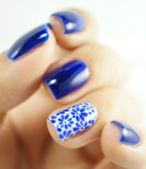 Manicure Month Day 3: Pretty Porcelain