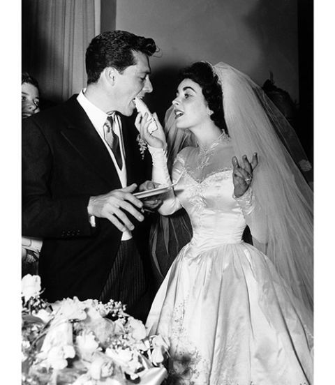 Elizabeth Taylor's 9 Wedding Ensembles
