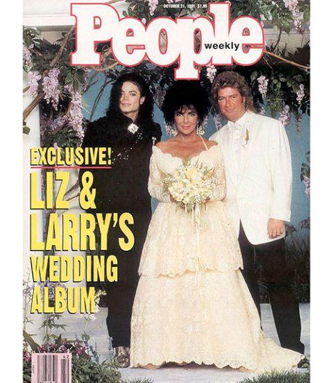 Elizabeth Taylor Wedding Dresses S