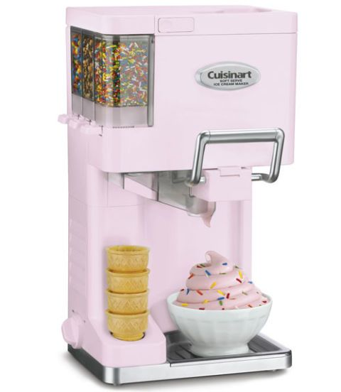 cuisinart mix it in soft serve ice cream maker model number ice 45