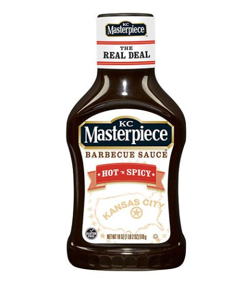 kc masterpiece hot and spicy barbecue sauce