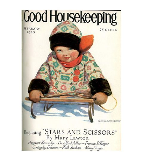 good housekeeping magazine cover february 1930