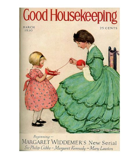 good housekeeping magazine cover march 1930