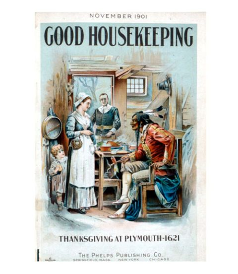 good housekeeping magazine vintage cover november 1901