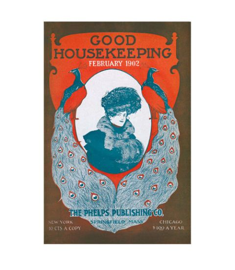good housekeeping magazine cover february 1902