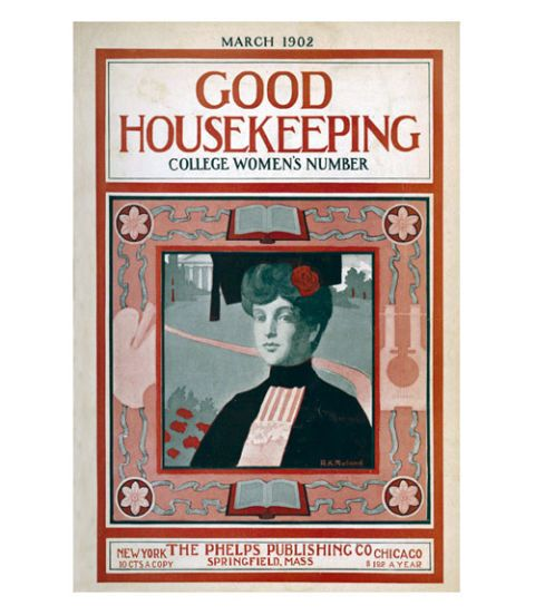good housekeeping magazine cover march 1902