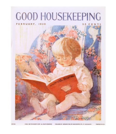 good housekeeping vintage cover, february 1920
