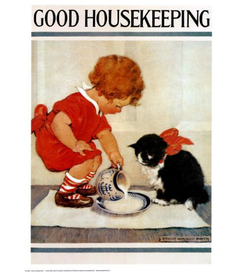 good housekeeping magazine cover march 1920