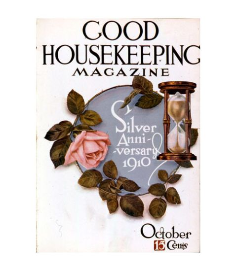 good housekeeping magazine vintage cover october 1910