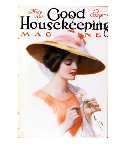 good housekeeping magazine vintage cover may 1911