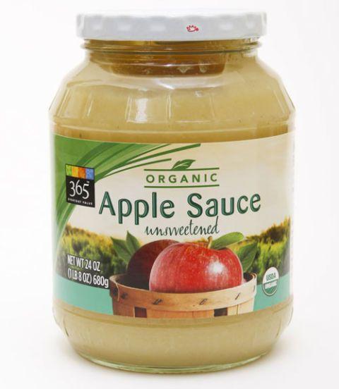 365 unsweetened applesauce