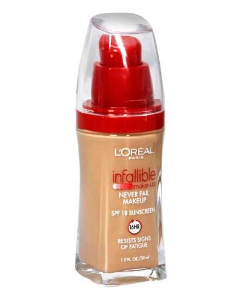 loreal paris infallible never fail makeup