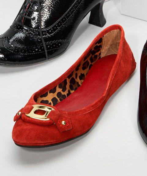 michelle d flat shoe