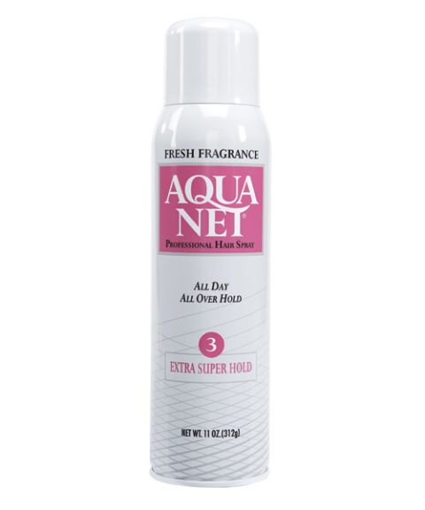 aqua net professional hairspray extra super hold