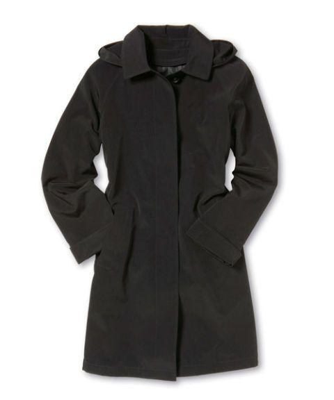 liz claiborne a-line coat