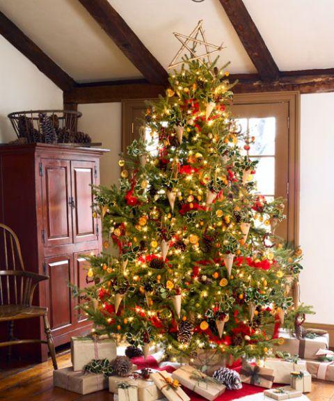 Natural Christmas Decor - Christmas Crafts to Make