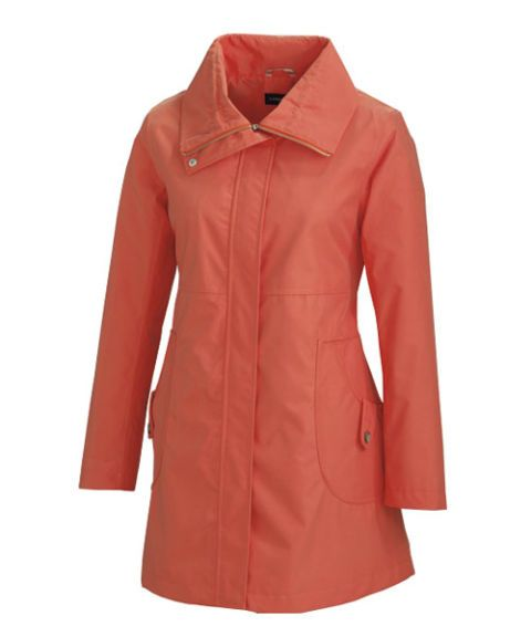 lands end sunshower swing coat