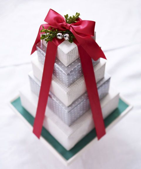 stack of presents