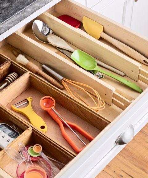 kitchen utensil drawer