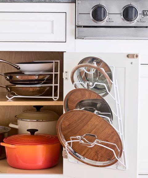 cookware lid storage