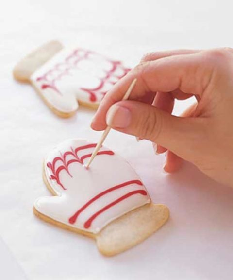 cookie decorating tips - step two