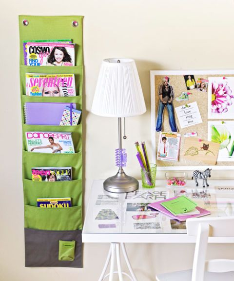 Kid's desk area