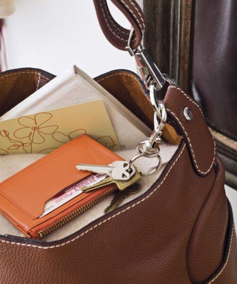 slim key-chain wallet