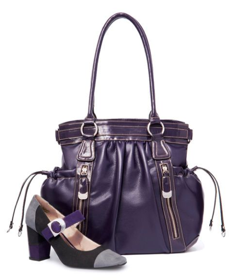 purse and heels