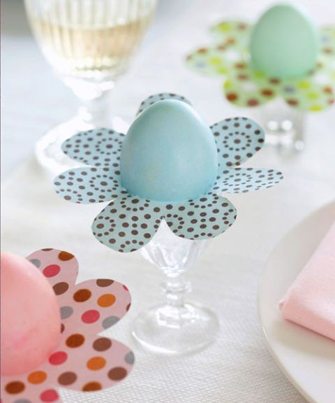 Easter Decorations Easy Egg Plants DIY