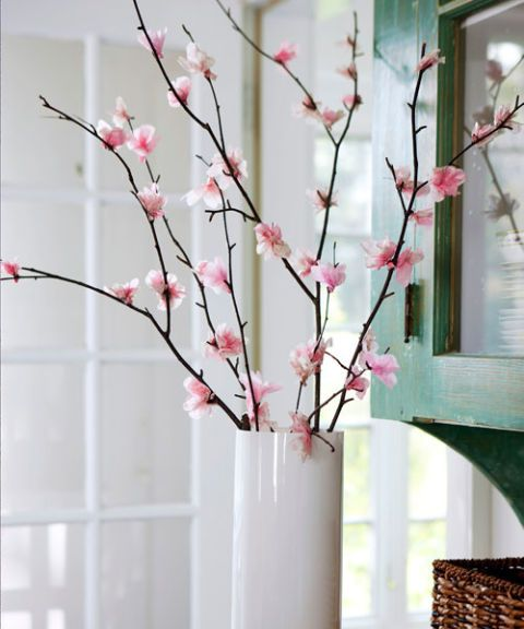 learn how tomake cherry blossom home art