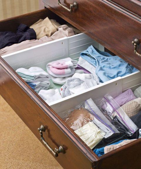 sock and underwear drawer