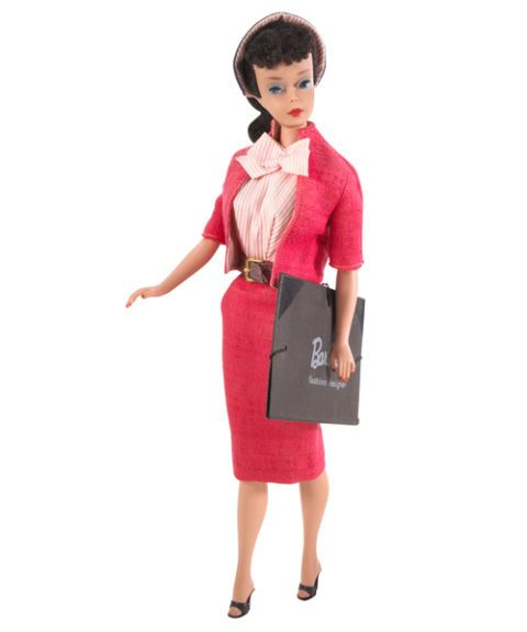 1960 fashion designer barbie