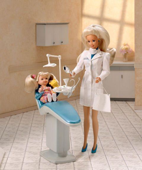 Barbie Dentist Doll /& Playset MYTODDLER New