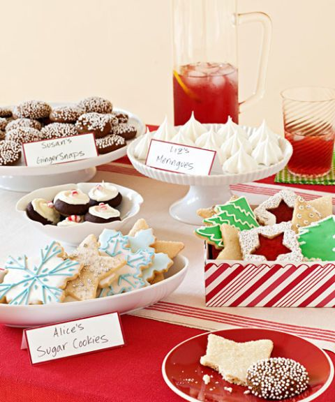 Christmas Cookie Exchange Party Ideas For Cookie Party Swap