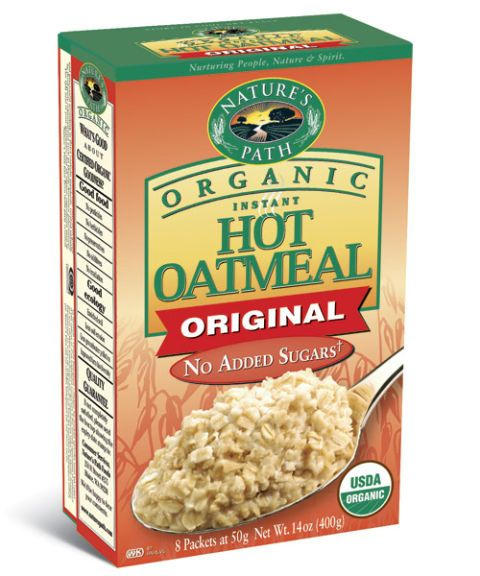 natures path instant oatmeal