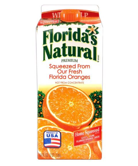 floridas natural premium home squeezed orange juice