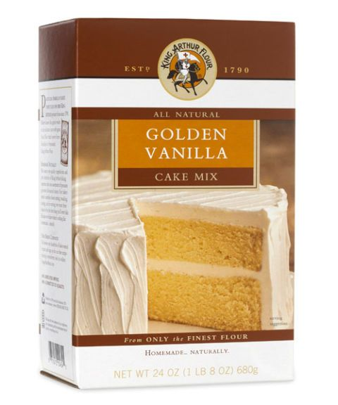 king arthur flour all natural golden vanilla cake mix