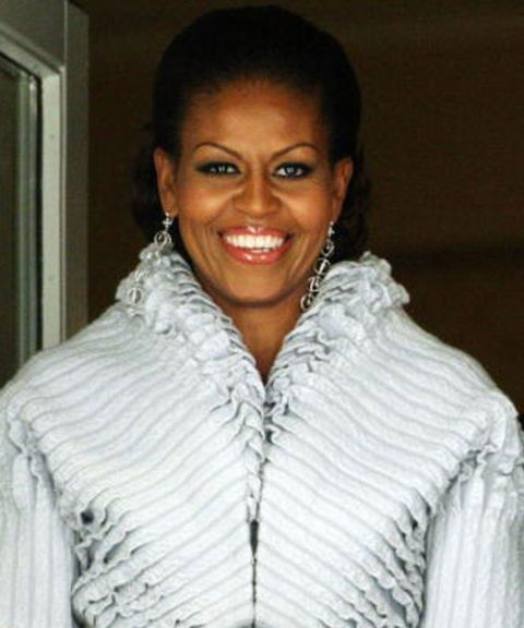 michelle obama in azzedine alaia