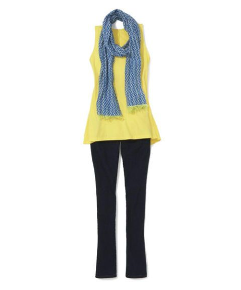 spiegel trapeze top outfit