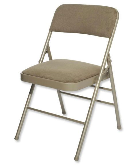 cosco upholstered folding chair