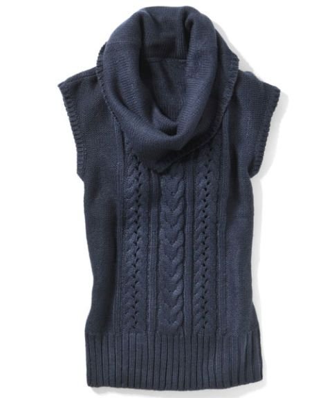 marshalls sleeveless cowl neck