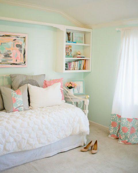 Interior design, Room, Green, Textile, Home, Teal, Wall, Turquoise, Interior design, Aqua,