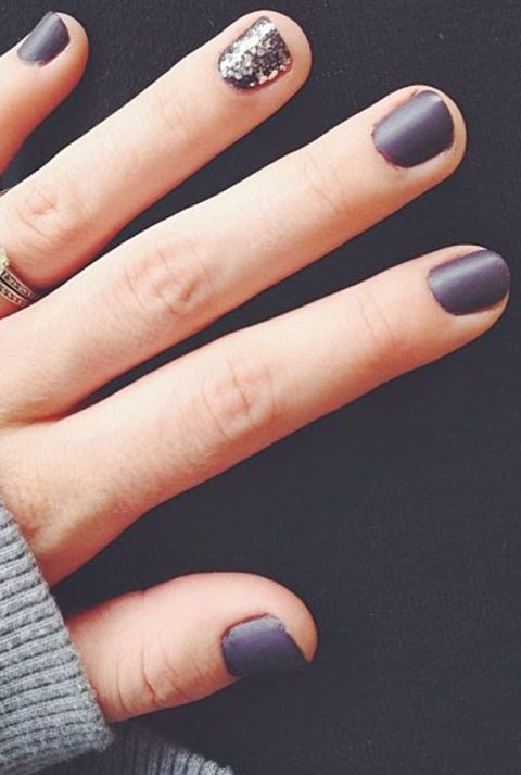 Gray Nail Art Ideas - Chic Manicures With Gray Polish