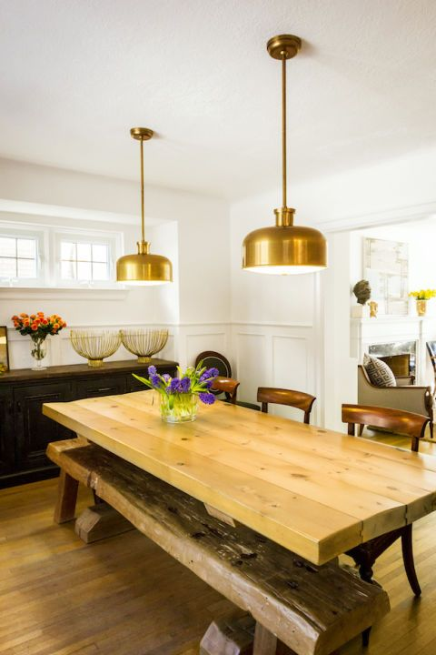Wood, Lighting, Interior design, Room, Hardwood, Furniture, Table, Floor, Flooring, Light fixture,