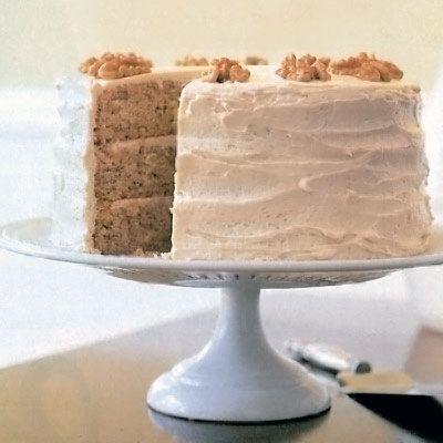 new england maple walnut cake